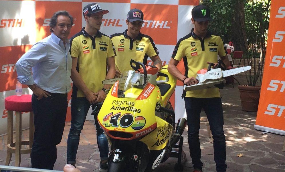 Foto: Sito Pons junto a los integrantes de su equipo (FOTO: Elena Sanz Bartolomé)
