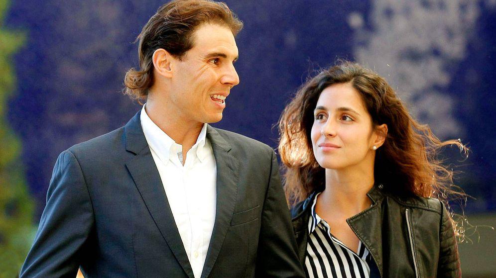 Foto: Rafa Nadal y Mery Perelló. (EFE)