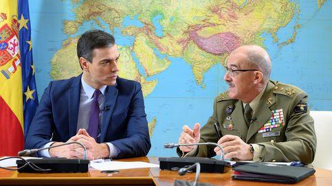 Sánchez felicita la Navidad a los militares en el exterior: Os queremos sanos y salvos