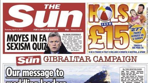 Nuestra roca no se toca:  la prensa de UK llama al boicot a España por Gibraltar