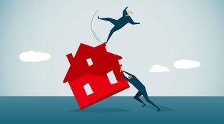 Dejé de pagar una hipoteca, si compro casa en efectivo, ¿me pueden embargar?
