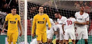 Post de El Sevilla abre las costuras del Atlético de Madrid y lo aparta de su segundo título