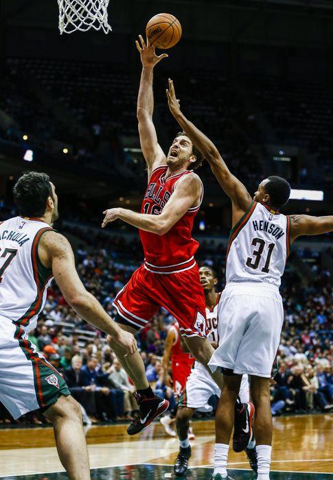 Foto: Pau Gasol fue clave para los Bulls.