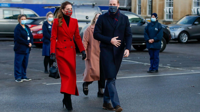 Los duques, en Berkshire. (Reuters)