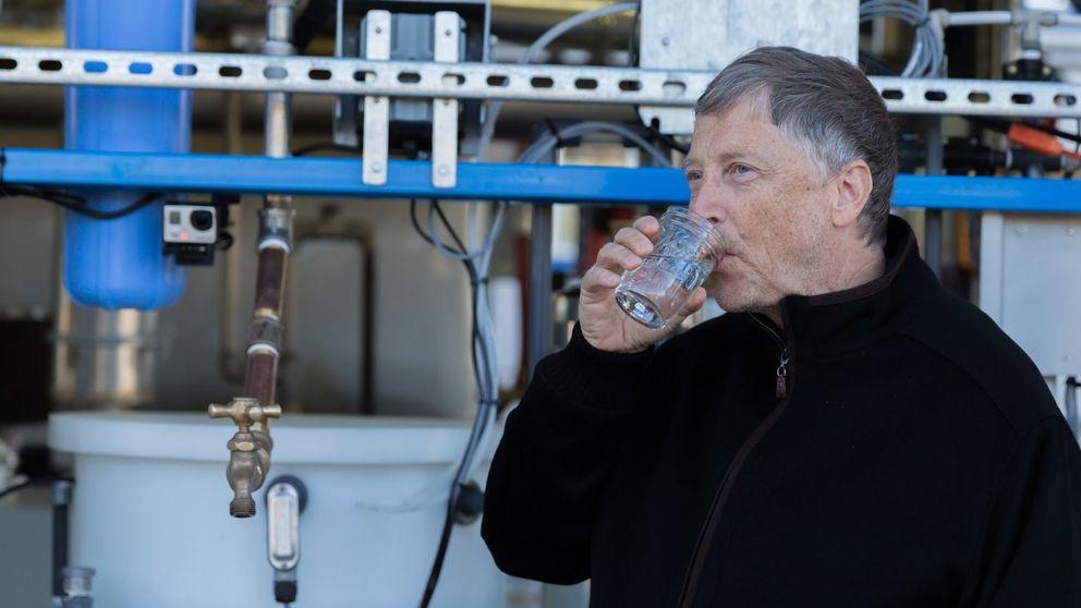 La última apuesta de Bill Gates: transformar heces en agua