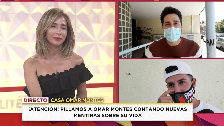 María Patiño en 'Socialité'. (Mediaset España)