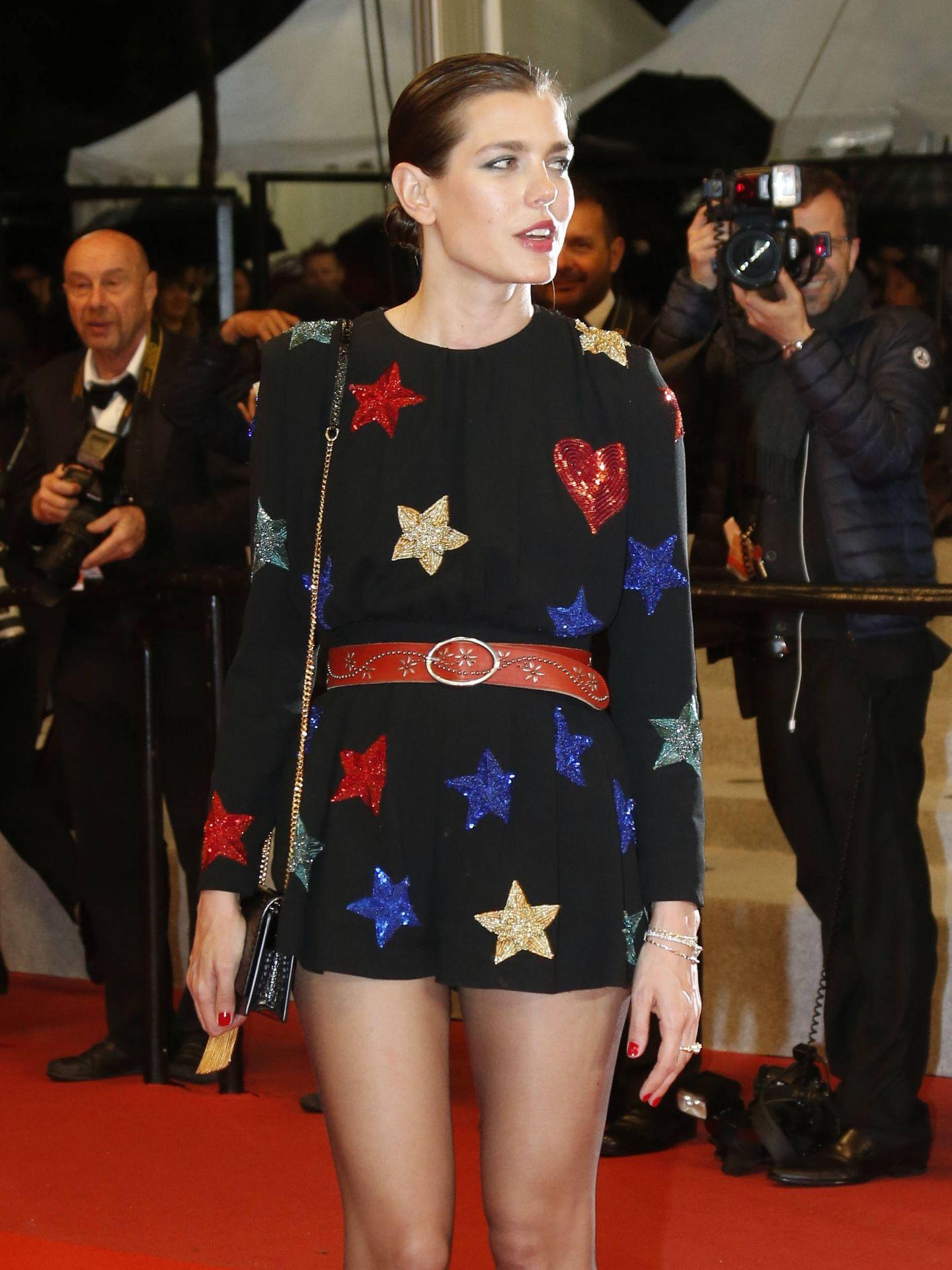 Carlota Casiraghi, en el Festival de Cannes. (Gtres)