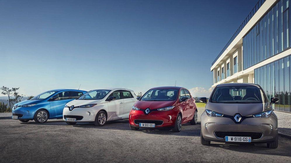 Foto: Renault Zoe, el eléctrico más vendido en España en enero.