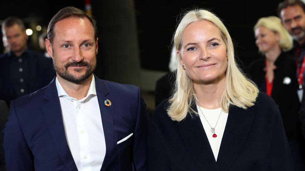 Foto: Haakon y Mette-Marit, en una imagen reciente. (EFE)
