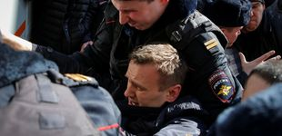 Post de La policía rusa detiene al líder opositor Navalni en protestas contra la corrupción