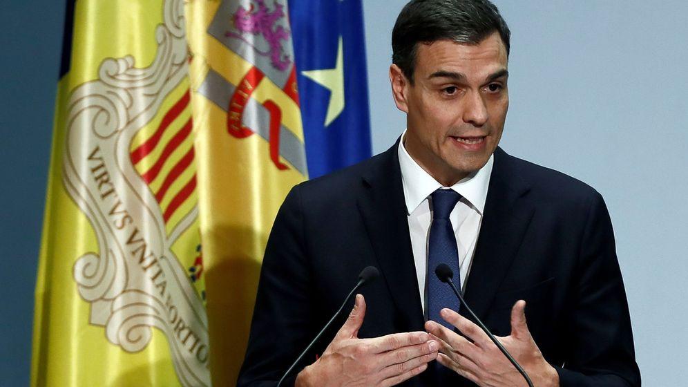 Foto: Pedro Sánchez, presidente del Gobierno. (EFE)