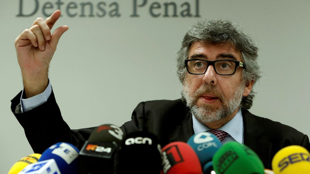 Foto: El abogado Jordi Pina. (EFE)