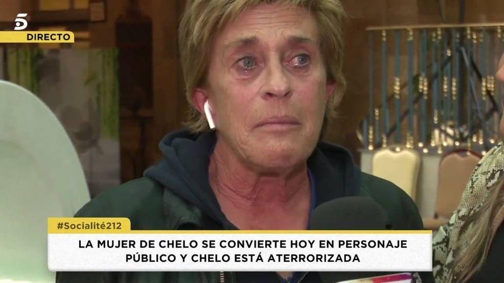 Chelo se derrumba en el programa de Patiño por el Deluxe de su mujer, Marta