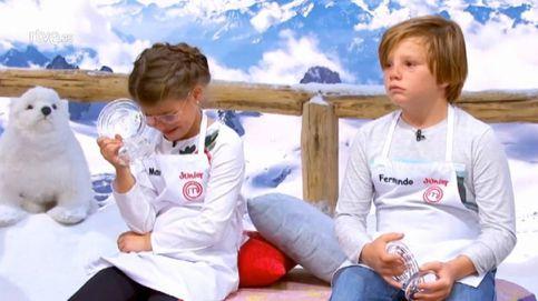 'Masterchef Junior': Mara y Fernando salen entre lágrimas antes de la semifinal