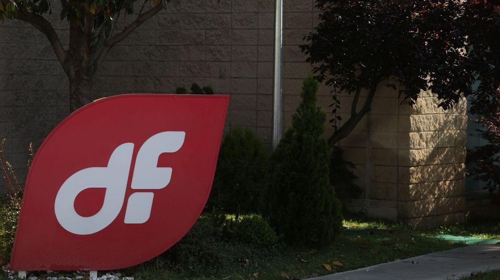 Foto: Logo de Duro Felguera en la entrada a sus oficinas de Madrid. (Reuters)