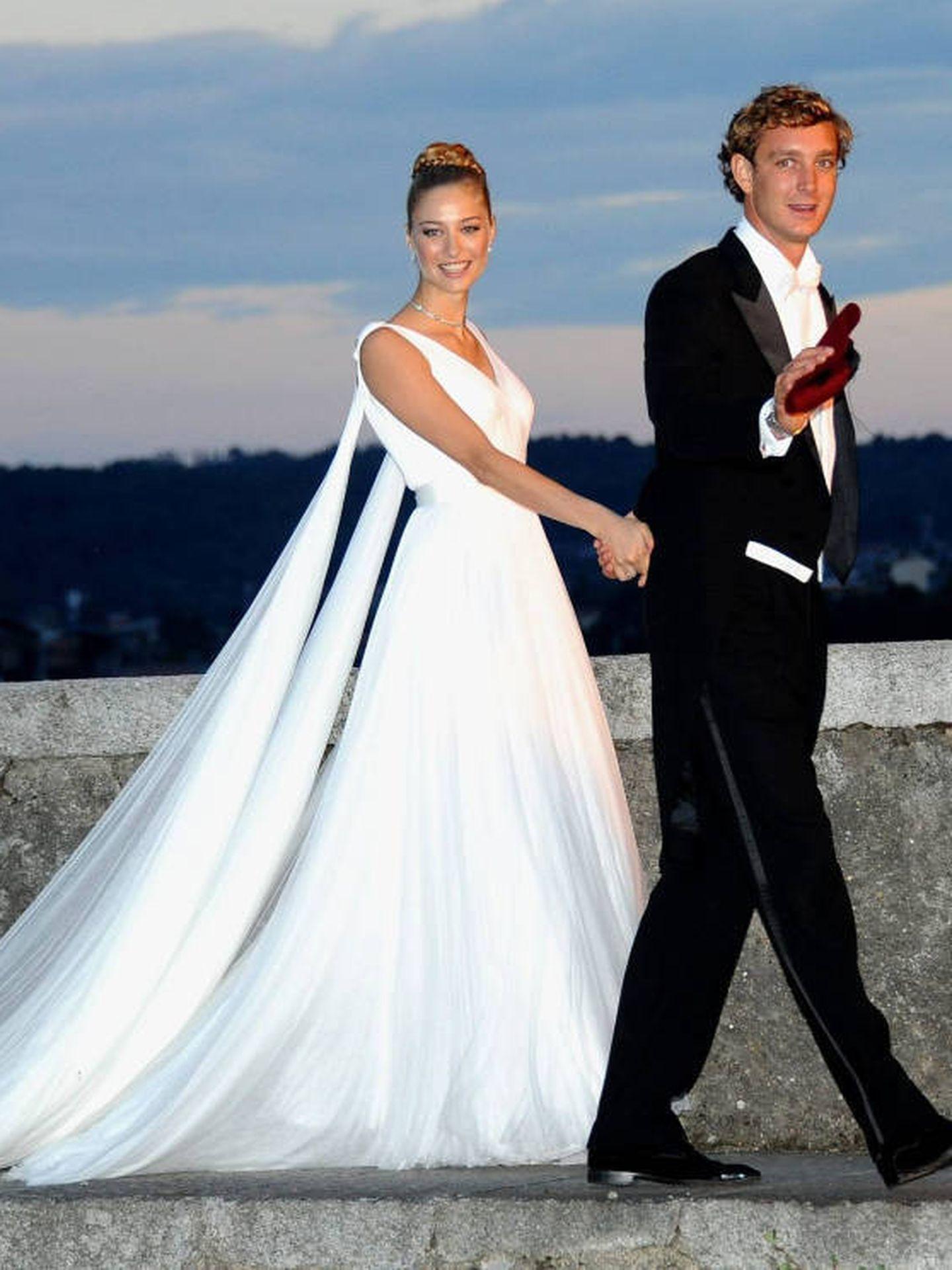 Beatrice y Pierre, en su gran día. (Cordon Press)