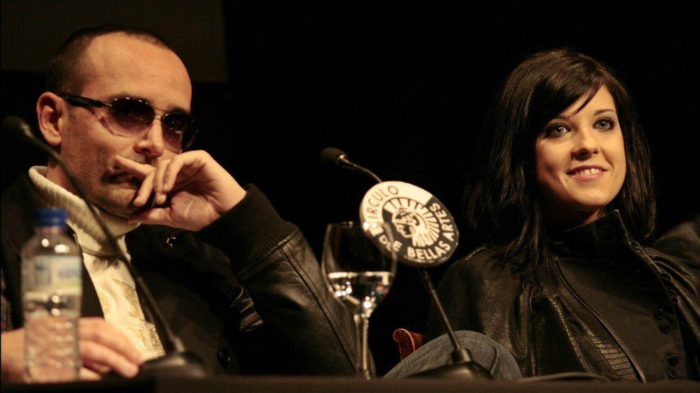 Foto: Risto y la cantante Virginia Maestro en 2009. (Gtres)