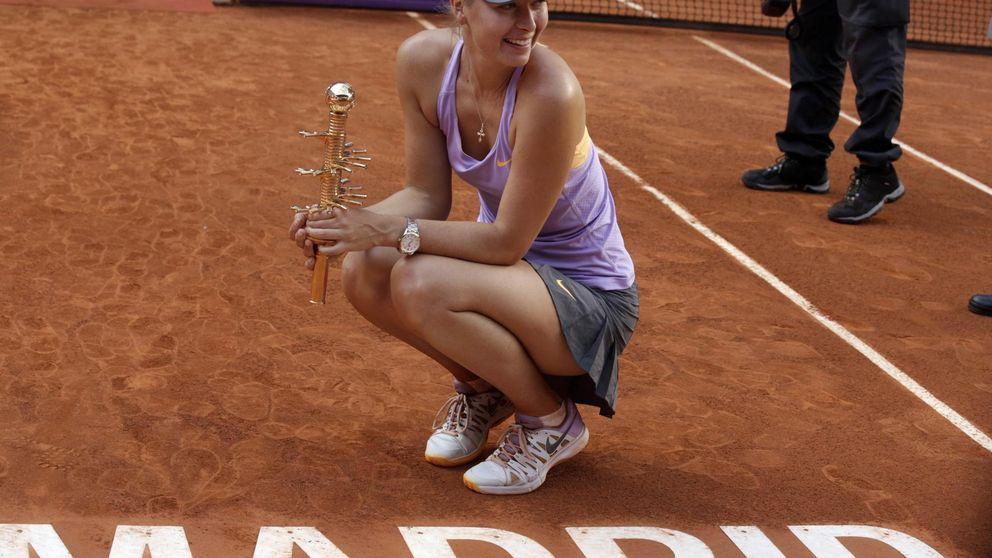 Las trampas de Sharapova no le quitan su billete de primera clase a Madrid