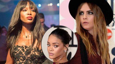 Cara Delevingne y Naomi Campbell, pelea de gatas por culpa de Rihanna