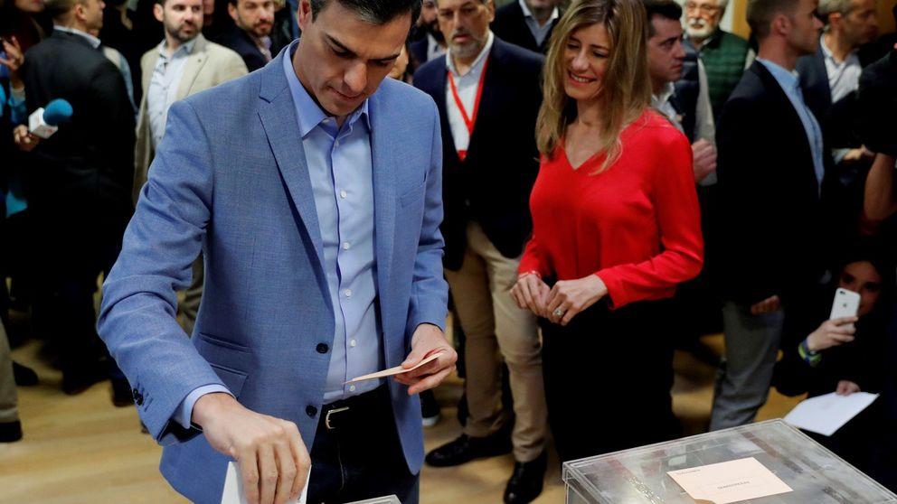 Sánchez pide una mayoría amplia para vivir 4 años de tranquilidad y sosiego