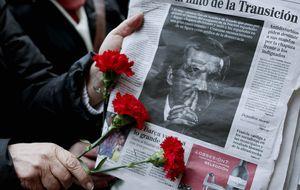 Suárez recupera el homenaje de las FAS y la unidad de la Transición