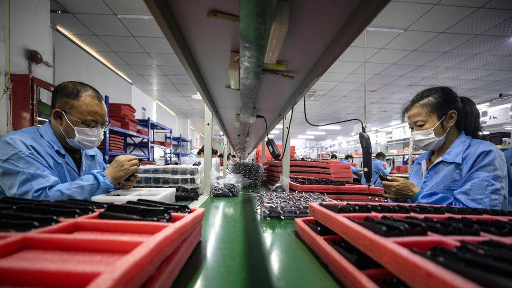 Foto: Una fábrica en Schenzhen (China). (Reuters)