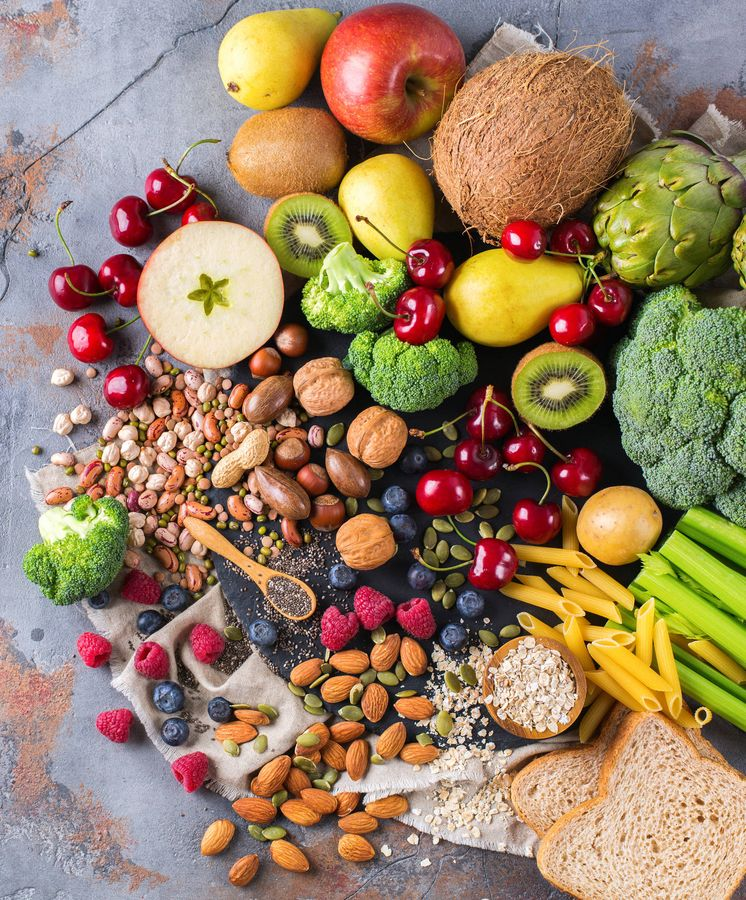 Foto: Los alimentos vegetales son una excelente fuente de vitaminas. Foto: (iStock)