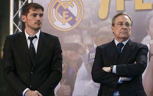 Florentino, primer aliado de Iker Casillas: No se merece este trato