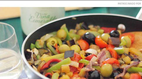 Caponata siciliana de berenjenas: un 'chute' vitamínico a base de verduras