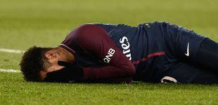 Post de Alarma en el PSG: Neymar se lesiona el tobillo a 9 días del duelo contra el Madrid