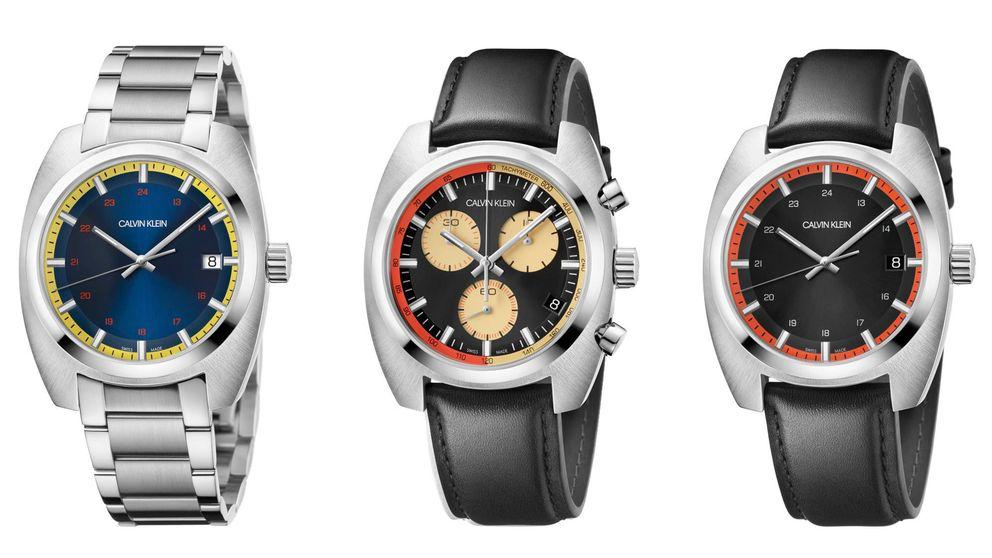 Calvin Klein: ejercicios de estilo y perfección (también en la relojería)