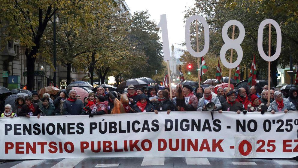 Pensionistas y sindicatos nacionalistas vascos convocan una huelga general el 30 de enero