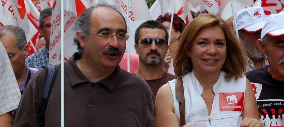 Foto: Julián Sánchez y Eulalia Vaquero, candidatos a las primarias de IU-CM. (Espacio Plural)