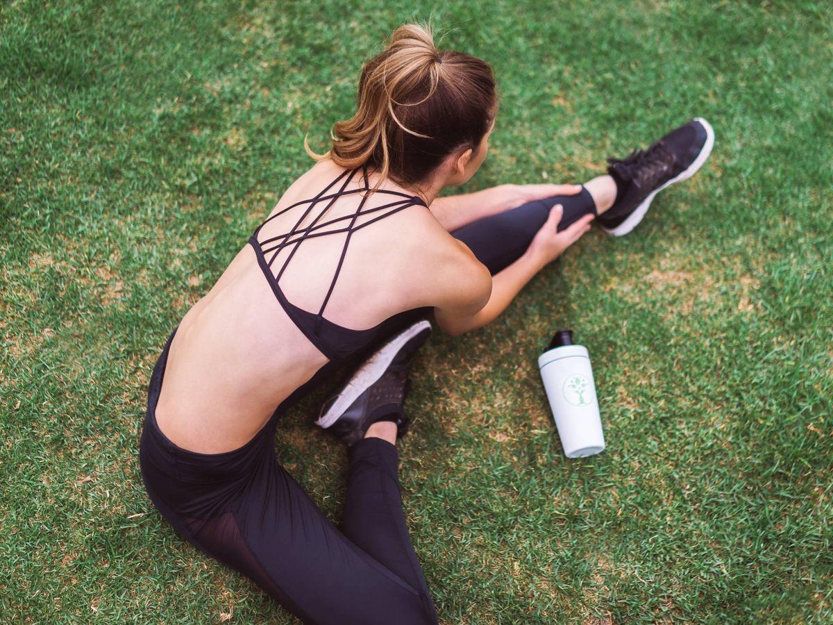 Foto: Ejercicios de pilates para un vientre plano. (LYFE Fuel para Unsplash)