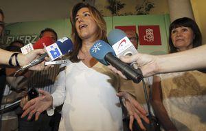 Susana Díaz revaliza su liderato tras la victoria de Pedro Sánchez