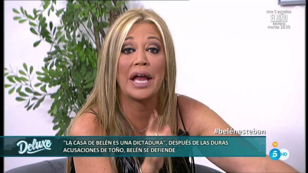 Belén Esteban podría dejar sin casa a Toño Sanchís