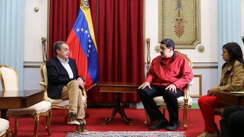 Zapatero visita a Maduro