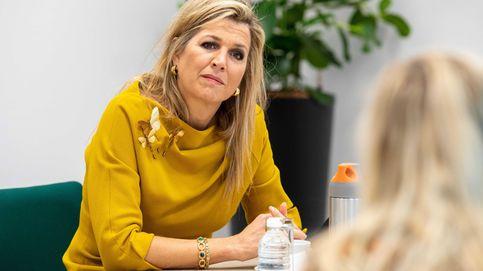 Máxima de Holanda y su nuevo idilio con el amarillo mostaza: los looks que lo prueban