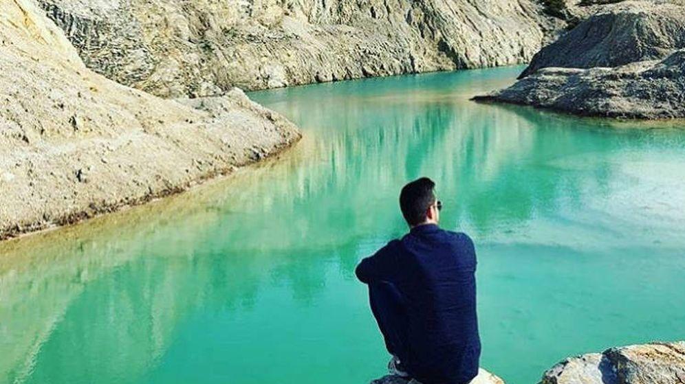Foto: No todos los usuarios se meten en el agua para hacerse el selfie (Foto: Instagram)