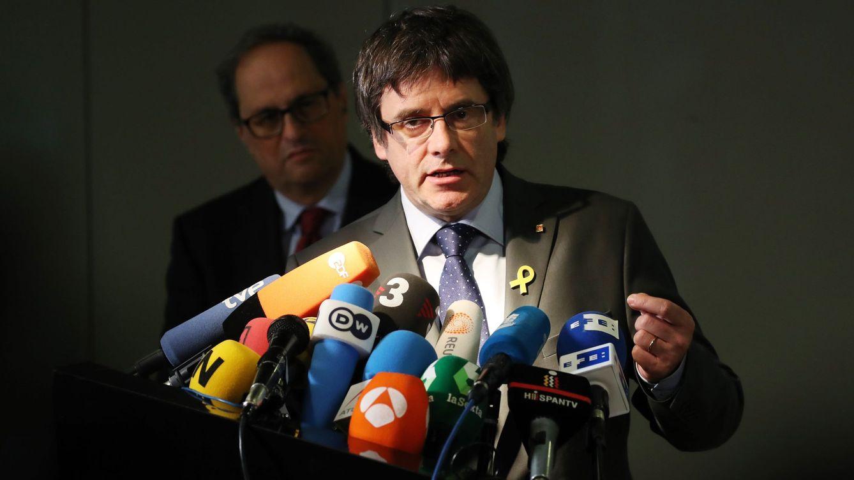 Puigdemont claudica ante Montoro y declara sus bienes para no ser suspendido 4 años