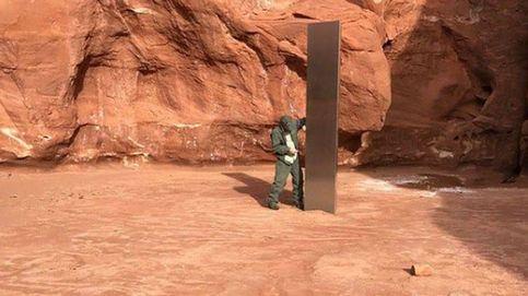 Encuentran un monolito de metal en el desierto de Utah
