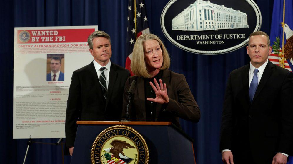 Foto: Mary McCord durante la rueda de prensa (Reuters)