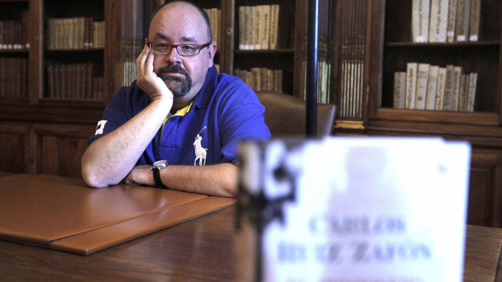 Foto: Carlos Ruiz Zafón. (EFE)