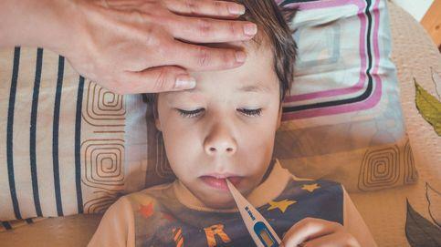 Fiebre alta en niños, ¿qué debemos hacer para bajarla?