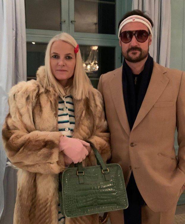 Foto: Haakon y Mette-Marit, en una imagen de IG.