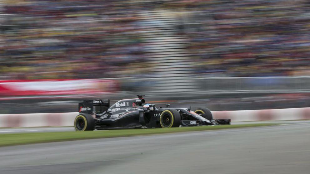 McLaren: señalar hacia el horizonte para no mirar dónde están los pies