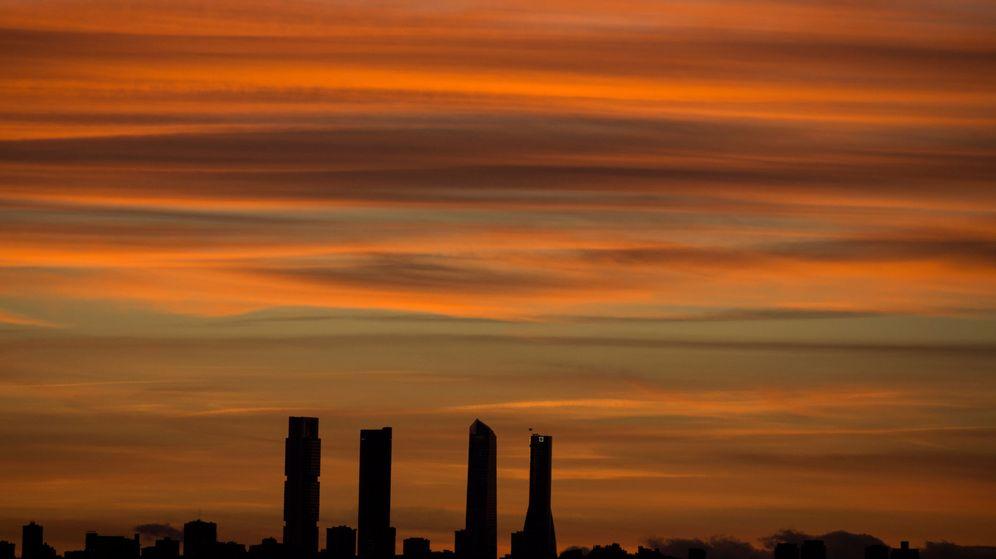 Foto: Vista general de las Cuatro Torres en Madrid. (Reuters)