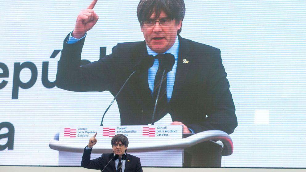 Puigdemont endurece su discurso y culpa a ERC de la falta de unidad