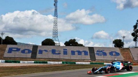 Alpine hace el yoyó con Fernando Alonso más cómodo desde la primera vuelta