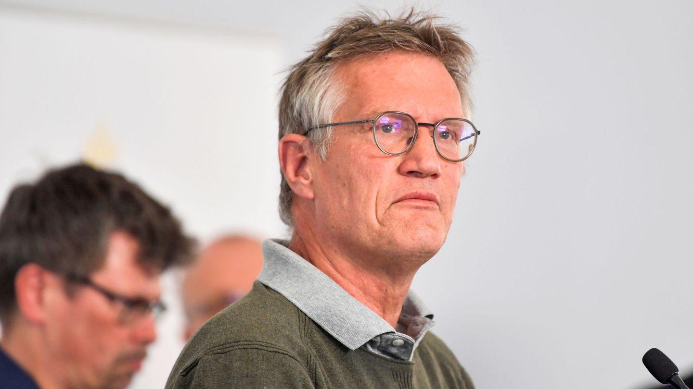 Anders Tegnell, en una comparecencia con la prensa. (Reuters)